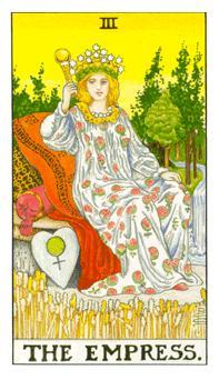 通用伟特塔罗牌 - Universal Waite Tarot - 女皇 - The Empress